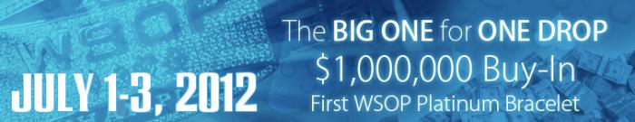 Rake The Rake Big One for One Drop WSOP