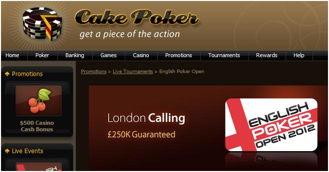 Cake Poker London Calling