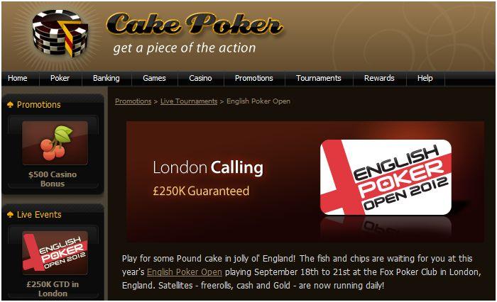 Cake Qualifiers EPO2012