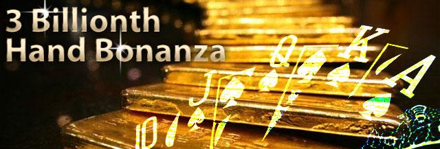 3 billionth hand bonanza page