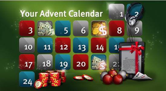 Advent Calendar Party Poker Rake The Rake