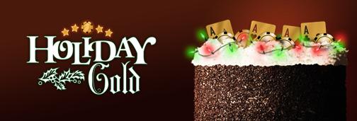 Cake Poker Holiday Gold Rake The Rake