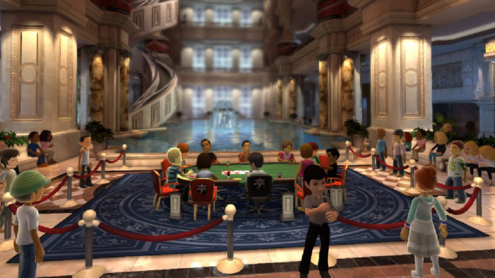 World Poker Tour Full House Pro XBLA Rake The Rake