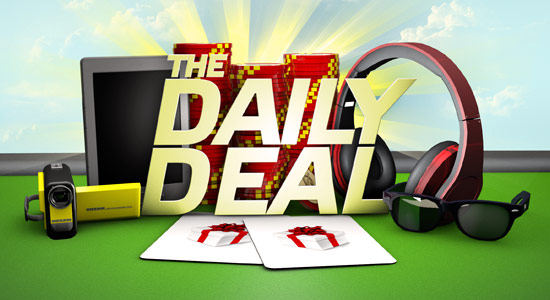 The daily deal banner