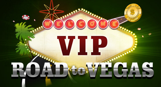 Vip road to vegas banner
