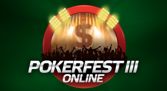 Pokerfest banner