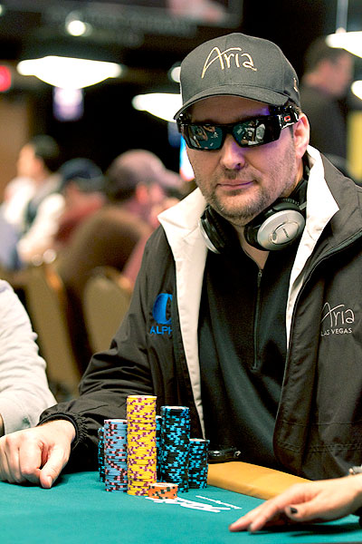 Phil Hellmuth PKR Sports Bet 2013 WSOP Rake The Rake1