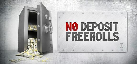 poker freerolls no deposit