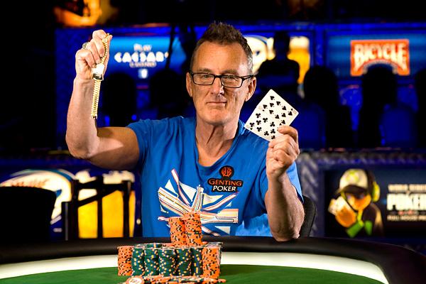 Barny Boatman WSOP 2013 Rake The Rake