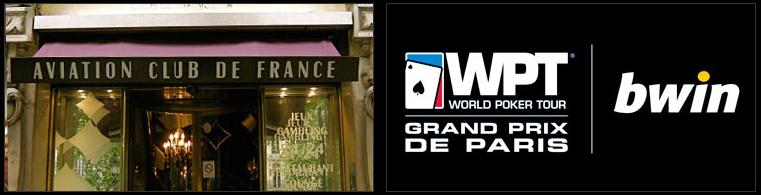 WPT Grand Prix de Paris bWin Poker RakeTheRake rakeback