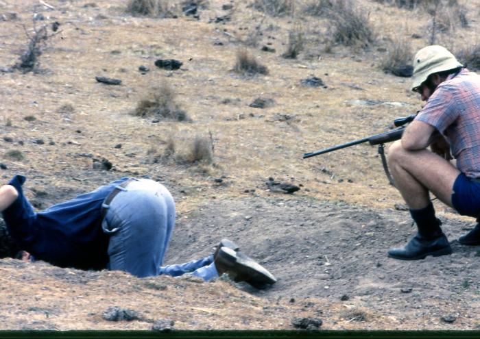 Bum hunting