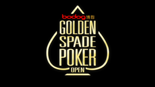 Bodog golden spade poker open