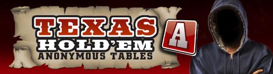 Unibet Poker anonymous tables