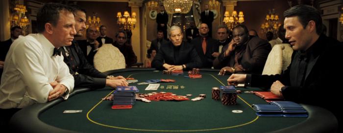 Casino Royale Worst Poker Movie Scenes Rake The Rake