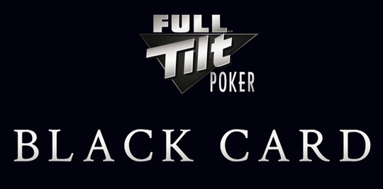 Full Tilt Poker Black Card Rake The Rake rakeback