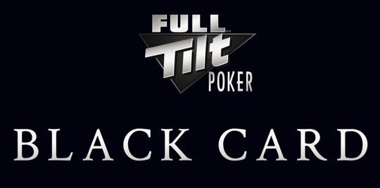 Full Tilt Poker Black Card RakeTheRake rakeback