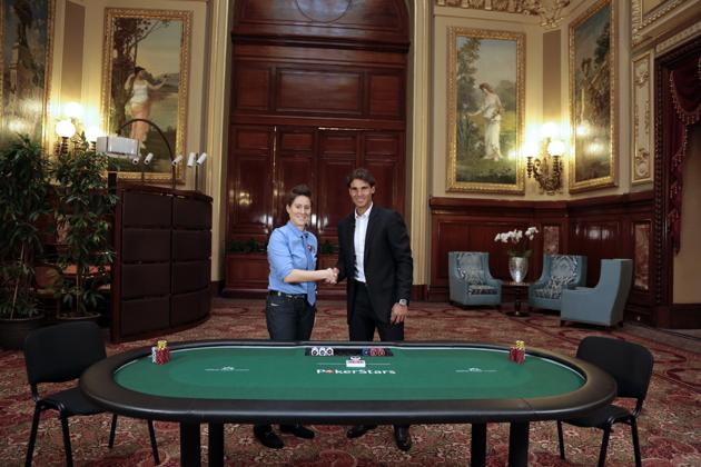 Rafael Nadal Vanessa Selbst Heads up Pokerstars Rake The Rake