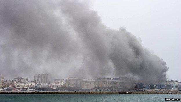 Gibraltar fire Rake The Rake