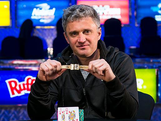 Alex Bilokur WSOP 2014 Rake The Rake