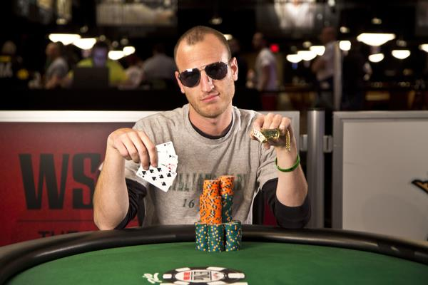 Brandon Paster WSOP