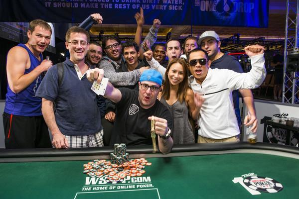 Jared Jaffee WSOP 2014 Rake The Rake