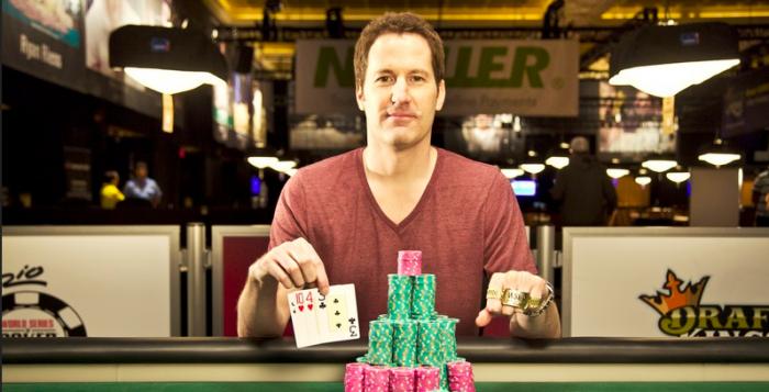 Pat Walsh WSOP 2014 Rake The Rake