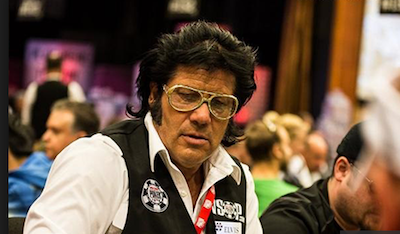 Joseph Elvis Levine WSOP Dealer Rake The Rake