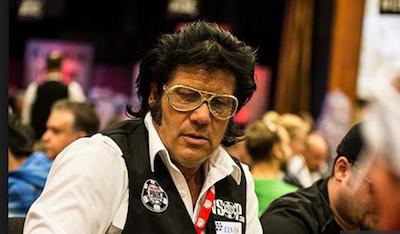 Joseph 'Elvis' Levine WSOP Dealer RakeTheRake