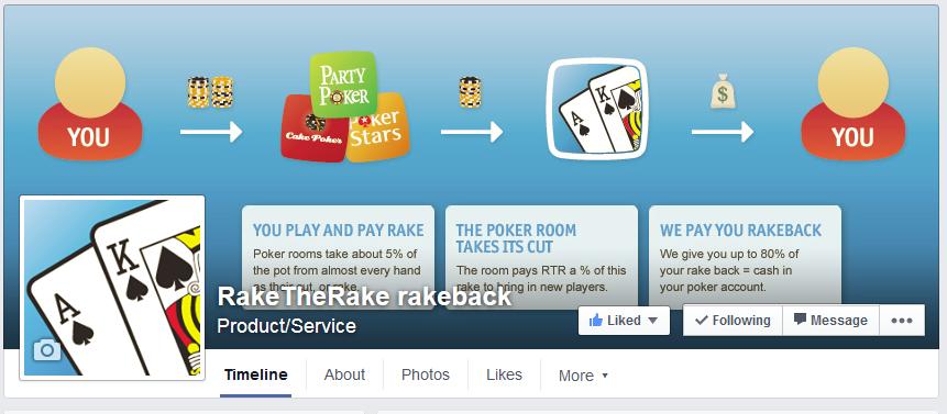 RakeTheRake Facebook Freeroll $250