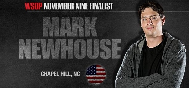 Mark Newhouse WSOP finalist