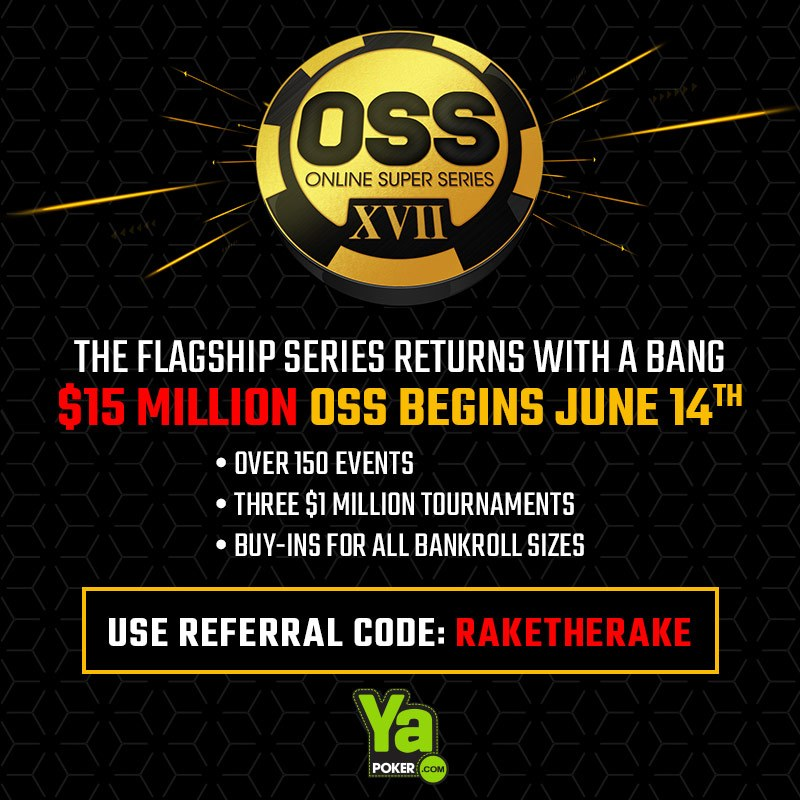 Ya Poker $15 million GTD