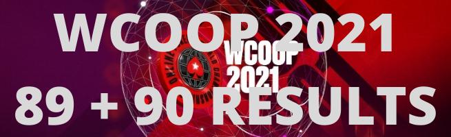 WCOOP 89 90 RESULTS