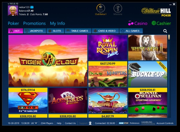 William Hill Screenshots