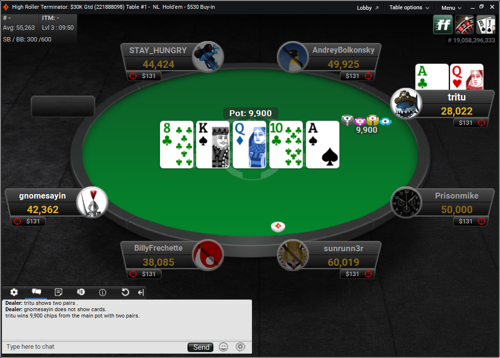 partypoker Screenshots